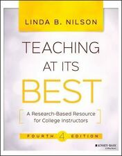 TEACHING AT ITS BEST - NILSON, LINDA B. - NEW PAPERBACK BOOK