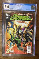 GREEN LANTERN #25 DC Comics 1/08 1st App Appearance LARFLEEZE ATROCITUS CGC 8.0