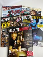 Modern Drummer Magazine Lot of 5 - Issues from 2005