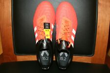 Men's Adidas Ace 15.2 FG/AG Soccer Cleats Orange/Black S83254 Size 11