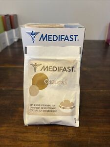 Medifast Maple and Brown Sugar Oatmeal  - 8 Packets Exp 9/21 8 Fuelings In Box