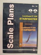 Scale Plans No. 18 Lockheed F-104 Starfighter by Mushroom Model Publications