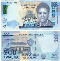 REPLACEMENT P-60-New 200 Kwacha Malawi 2016 UNC /> ZA