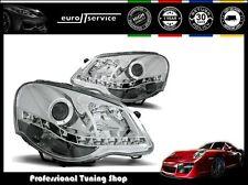 NEUF FEUX AVANT PHARES LPVWA5 VW POLO 9N3 2005 2006 2007 2008 2009 DAYLIGHT