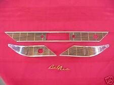 1956 56  CHEVY B/A  DASH  TRIM, W/GOLD B/A SCRIPT, NEW