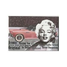 """Marilyn Monroe Icon Fridge Magnet 3"""" x 2"""" Images With Car"""