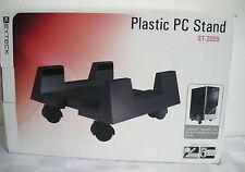 STAND PORTA PC IN PLASTICA REGOLABILE CON RUOTE COD. ST2009