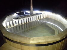 New Wooden hot tub Diameter-180cm. Fully assembled, with Bubbles
