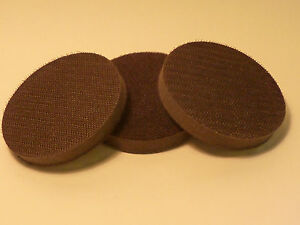 """Interface Pad 3"""" / 75mm Sanding / Backing Hook and Loop Pack of 3"""