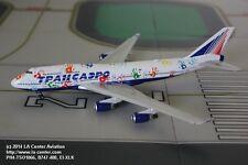 Phoenix Model Transaero Russian Airlines Boeing 747-400 Hand Diecast Model 1:400