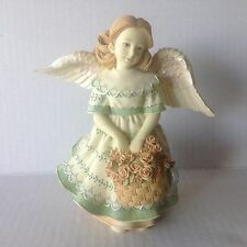 "Angels among us "" Angel of Love "" Betty Singer Figurine 6 1/4"" Tall"