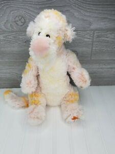 """Disney Store Exclusive Tigger Stuffed Plush Fuzzy Pastel White and Orange 12"""""""