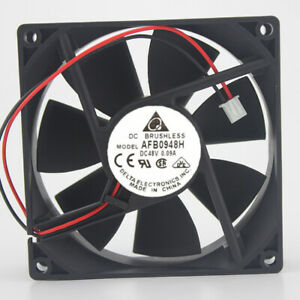 Delta AFB0948H 48V 0.09A 2.88W 9025 9cm 2-pin quiet double ball cooling fan