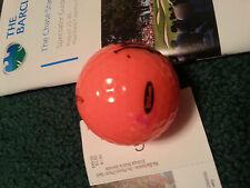 Adam Scott signed Wilson Pink Hope golfball