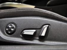 Audi Q5 Sitzembleme Edelstahl Blenden Sitzverstellung Sitzblende SQ5  TFSI FSI
