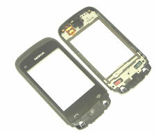Original Nokia C2 C2-02 C2-03 Touchscreen Digitizer Touch Screen Glas mit Rahmen