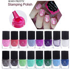 6ml Nail Stamping Polish Colorful Nail Art Stamp Print Varnish Decor BORN PRETTY