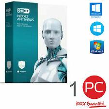 ESET NOD32 Antivirus 1 PC 1 Anno Global Key Digital Download
