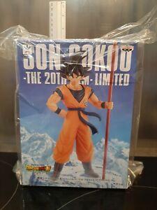 Figurine DRAGON BALL SUPER BROLY Son Goku The 20th Film Banpresto PVC rare lot