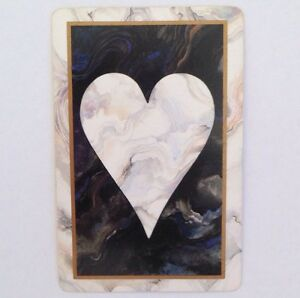 Vintage Hearts Playing Swap Card