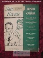 Saturday Review June 7 1952 JAMES THURBER CANADA LEO CHERNE DESMOND PACEY