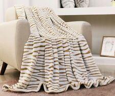 Super Soft Fluffy 3D Animal Print Fleece Microfiber Blanket All Bed Sizes New!