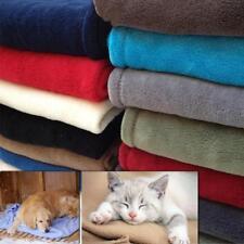 Warm Pet Mat Large Paw Print Cat Dog Puppy Fleece Soft Blanket Bed Cushion Gn