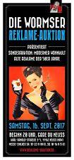 """Auktionskatalog """"Alte Reklame der 50er Jahre"""" 16.09.2017 Gare du Neuss"""