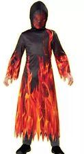 Boys Scary Dark Inferno Demon Halloween Complete Costume Age 5-7y New!