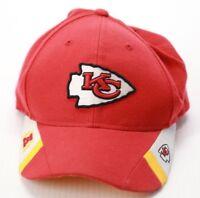 Reebok Adult NFL Unisex Kansas City Chiefs Hat Red Adjustable