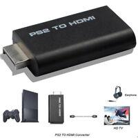 HDV-G300 PS2 zu HDMI 480i 480p 576i Audio Video Konverter Adapter für PSX PS4!E