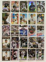 2016-2020 Chicago White Sox 25-card Team Lot (Bowman/Topps, no duplicates)