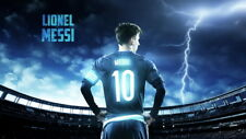 """262 Lionel Messi - Barcelona Football Soccer Top Player 24""""x14"""" Poster"""