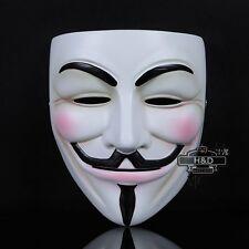 Resin V for Vendetta Anonymous Guy Fawkes Mask Halloween Costume Fancy Dress