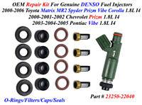 Ford F-350 1991-2003 Fuel Injector Rebuild//Repair Kit O-Rings FiltersSpacers