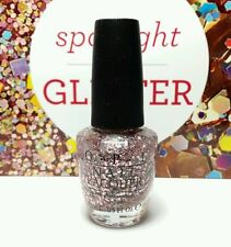 OPI Spotlight Glitter G40 YOU PINK TOO MUCH nail polish lacquer 15 ml .5 fl oz