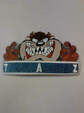 "LOONEY TUNES Tasmanian Devil ""TAZ"" Iron-On Patch 6 1/2"" X 4"""
