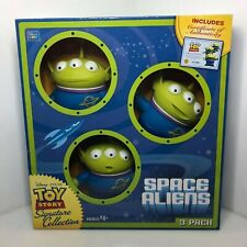 Disney Toy Story Signature Collection Space Aliens 3 Pack Claw BNIB Thinkway (O6