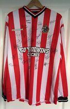 More details for signed autographed altrincham fc large football shirt c.2010 graham heathcote