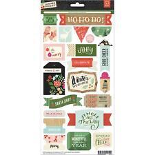 Basic Grey Juniper Berry Element Stickers! Christmas