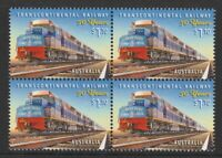Australia 2020 : Transcontinental Railway - 50 Years. $1.10 Block of 4 Stamps,
