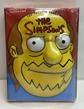 The Simpsons Season 12 DVD 2009, 4-Disc Set Limited Edition Collectible Case New