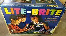 Vintage Lite Brite 1967 Hasbro