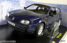 Revell 1/18 Scale 08945 9092 VW Volkswagen Golf GTi Mk IV Blue diecast model car
