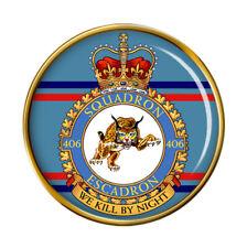 406 Squadron, RCAF Pin Badge