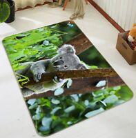 3D Gris Koala 012 Étage Antidérapant Natte Élégant Tapis FR Tiffany