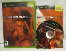 Dead or Alive 3 Xbox Video Game Complete with Instructions and TESTED