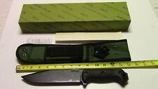 Vintage CAMILLUS Knives BK&T Becker BK7 Knife made in USA with box and paperwork