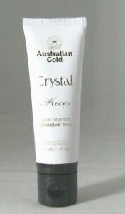 NEW Australian Gold Crystal Faces 1 fl oz.