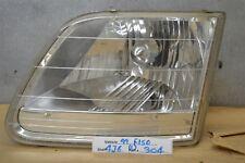 1997-2001 Ford F150 Left Driver OEM headlight 04 4J6
